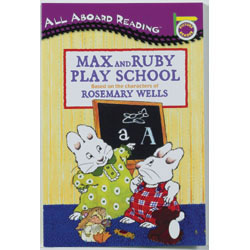 Max And Ruby Play School - Paperback