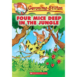 Four Mice Deep In The Jungle - Paperback