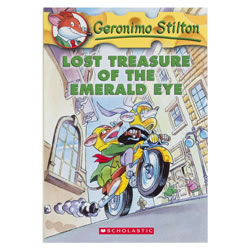 Lost Treasure of the Emerald Eye - Paperback