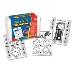 Telling Time Quiz Cards