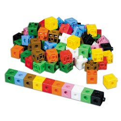 1 cm Interlocking Unit Cubes (Set of 1000)