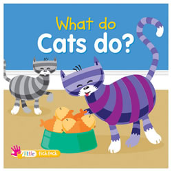 What Do Cats Do? - Board Book