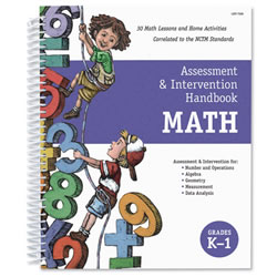 Assessment and Intervention Handbook - Math (Grades K-1)