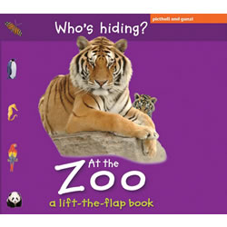 Who's Hiding at the Zoo? - Lift the Flap Board Book