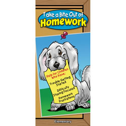 10 Minute Talks: Homework Grades K - 5 Parent Brochure (Set of 25)
