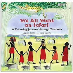 We All Went on Safari - Hardback