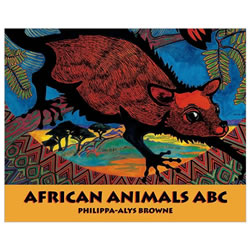 African Animals ABC - Board Book