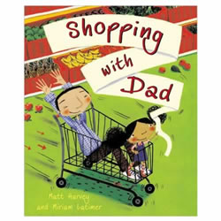 Shopping with Dad - Hardback