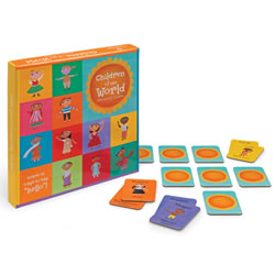 Children of the World Memory Game