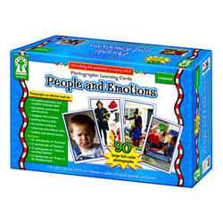 Photographic Learning Cards - People & Emotions (90 cards)
