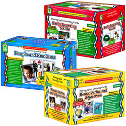Photographic Learning Cards Classroom Set