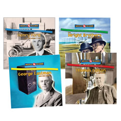 Inventors and Their Discoveries (Set of 4)