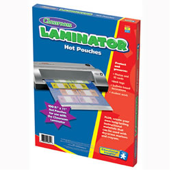 Hot Laminating Pouches 8.5x11 (package of 100)