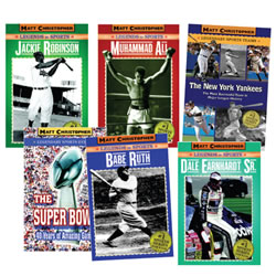 Matt Christopher Sports Legend Books (Set of 6)