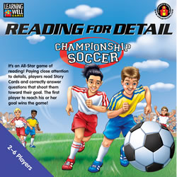 Reading for Detail Championship Soccer (Blue Level: 3.5 - 5.0)