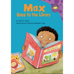 Max Goes to the Library (CD & Book Set)
