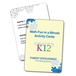 Math Home Activity Kit - English Version