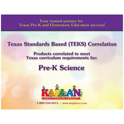 TEKS Pre-K Science Correlations