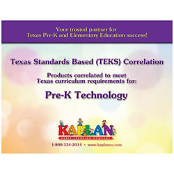 TEKS Pre-K Technology Correlations