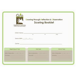 Gro Scoring Booklets (20 Pack)