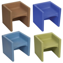 Cube Chairs (Set of 4)