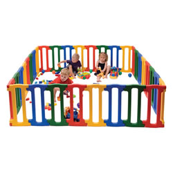 Large Magic Panel Playpen