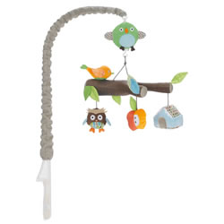 Treetop Friends Musical Crib Mobile