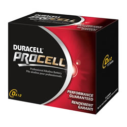 Duracell® Procell  Batteries D (12 pack)