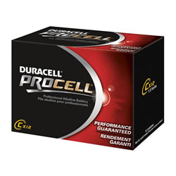 Duracell® Procell Batteries C (12 pack)