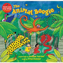 The Animal Boogie - Hardback with CD