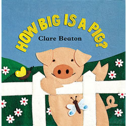 How Big is a Pig? - Board Book