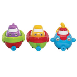 Tub Boats (Set of 3)