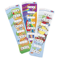 Unifix® Word Ladders: CVC Words