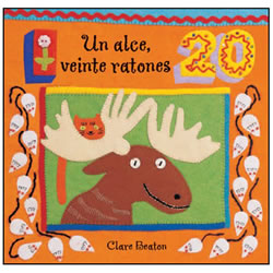 Un alce, veinte ratones - Board Book