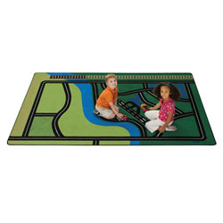 Transportation Fun Rug
