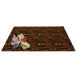 Read to Dream Pattern Rug - Nature
