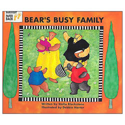 Bear's Busy Family - Paperback