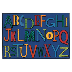 Playful Alphabet Rug