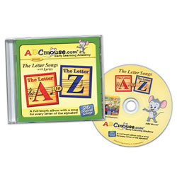The Letter Songs A-Z CD