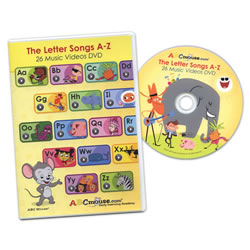 The Letter Songs A-Z DVD