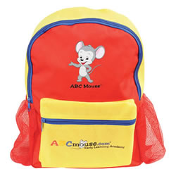 ABCmouse.com Red Backpack