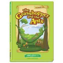 The Grasshopper and the Ants - Hardcover book from ABCmouse.com