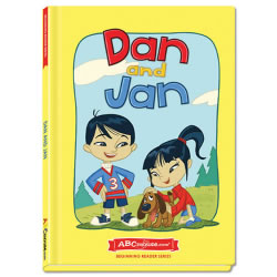 Dan and Jan - Hardcover book from ABCmouse.com