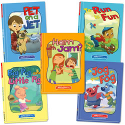 ABCmouse.com Beginning Readers Set 1 - Hardcover (Set of 5 Books)