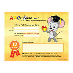 ABCmouse.com One-Year General Gift Membership