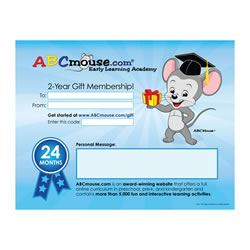 ABCmouse.com Two-Year General Gift Membership