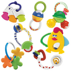 Rattle and Teether Activity Set