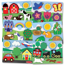 Chunky Scenes Puzzle Set (Set of 6)