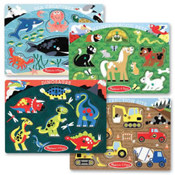Popular Themed Peg Puzzle Set