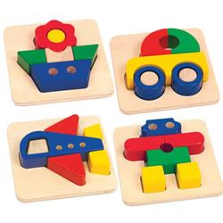 Big Blocks Puzzle Set
